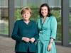 Dorothee Bär und  Bundeskanzlerin Angela Merkel